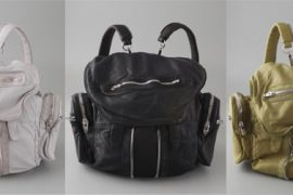 Alexander Wang's new backpack is perfect for a city girl