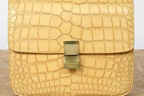 Want it Wednesday: Celine Classic Croco Flap Box Bag