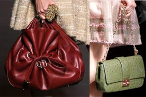 Fashion Week Handbags: Dior Fall 2011