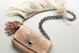 Fill in the blank: The Lanvin Feathered Ouloulette Bag is…