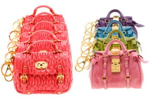 Miu Miu follows in Balenciaga's footsteps, offers tiny bags as charms
