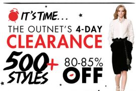 theOutnet.com 4 day Clearance Sale