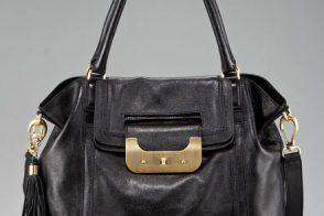 Diane von Furstenberg hits her handbag stride