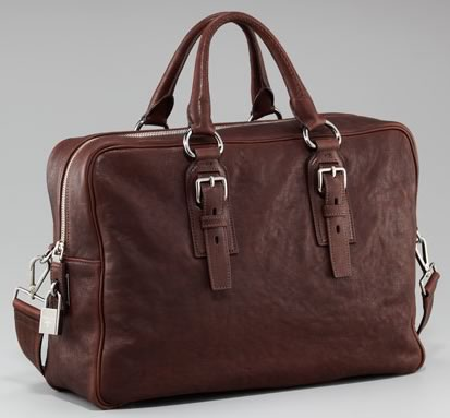 prada sunglasses replicas - Man Bag Monday: Prada Leather Shoulder Bag - PurseBlog