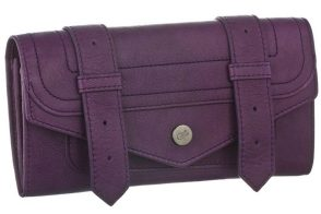 Psst…the new Proenza Schouler wallet also comes in purple!
