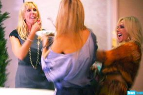 "RHOC: ""To fresh starts and fresh foreheads!"""