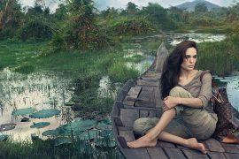 Angelina Jolie for Louis Vuitton's Core Values Campaign