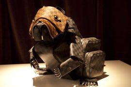 Billie Achilleos turns Louis Vuitton bags into animal sculptures