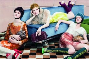 Check out Prada's Fall 2011 ad campaign