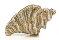 Judith Leiber Breakers Conch Shell Minaudiere