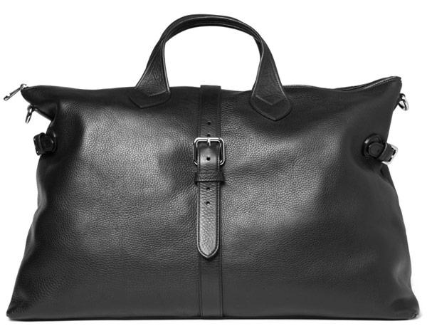 Man Bag Monday: The Mulberry Albert Leather Holdall - PurseBlog