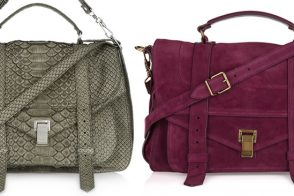 Two stunning Proenza Schouler PS1s hit NAP today