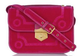 Only Alexander McQueen could make me love a velvet bag