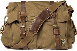 Man Bag Monday: Belstaff Cotton Canvas Messenger Bag
