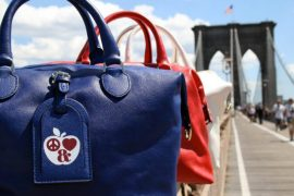 Mulberry opens its New York flagship with bags that are red, white and blue all over NYC
