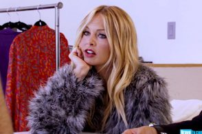 """Rachel Zoe Project: """"What more do we need? I have my Stella McCartney blanket sweater."""""""