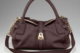 The Burberry East-West Buffalo Tote is semi-affordable and chic