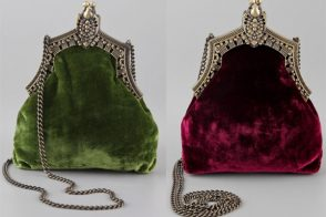House of Harlow goes heavily retro for a pretty little evening bag