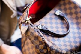 Purseonals: Louis Vuitton Damier Ebene Speedy 30cm