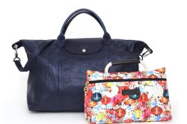 Longchamp's Spring 2012 line looks better than ever
