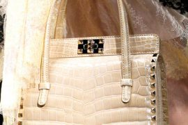 Fashion Week Handbags: Valentino Spring 2012