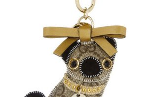 I'd like to add this little Gucci pug to my list of most giftable bag charms
