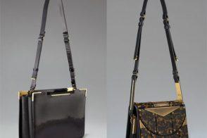 Lanvin embraces super structured bags