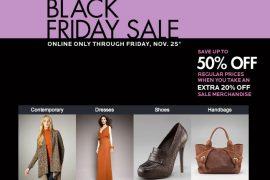 Neiman Marcus Black Friday Sale!