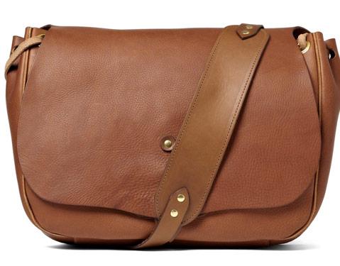man bag monday bill amberg full grain leather messenger bag purseblog. Black Bedroom Furniture Sets. Home Design Ideas