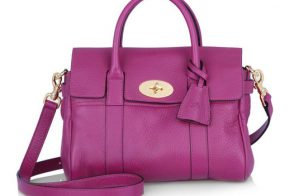 The Mulberry Bayswater: Now available in convenient crossbody size!
