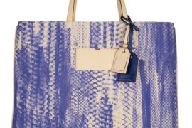 You cannot possibly understand how fervently I wish this Reed Krakoff tote were leather
