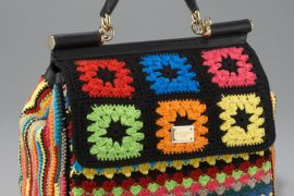 """Fill in the Blank: """"Dolce & Gabbana's Miss Sicily Crocheted Bag is…"""""""