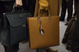 Man Bag Monday: Louis Vuitton Fall 2012 Men's Accessories, straight from the runway