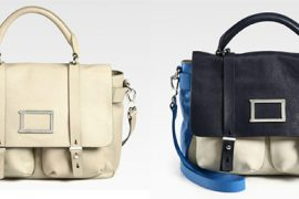 Whether neutral or colorblocked, this Marc by Marc Jacobs satchel is pretty great