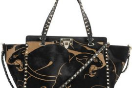 Fill in the Blank: The Valentino Rockstud Panther Print Calf Hair Tote is…