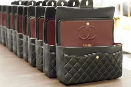 Go behind the scenes for the making of a Chanel Classic Flap Bag