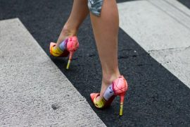 Want It Wednesday: Christian Louboutin Pigalles at Paris Fashion Week