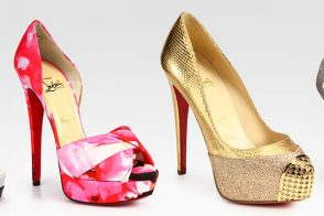 Christian Louboutin Spring Collection arrives at Saks.com