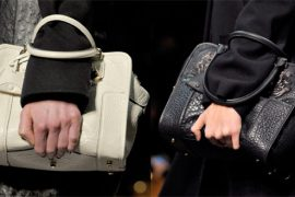 Fashion Week Handbags: Loewe Fall 2012
