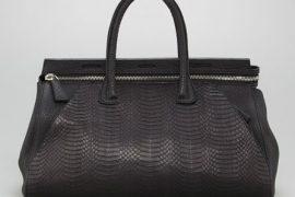 Holy snakeskin, you guys: The VBH Milano Sunbeam Snake Bag