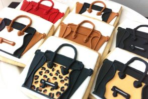 Friday Afternoon Snack Break: Celine Luggage Tote cookies!