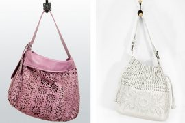 We just can't get enough of these two Lockhart bags