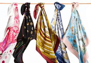 hermes bag scarf