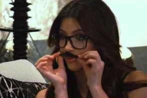 "Keeping Up With The Kardashians: ""Where did my mustache go?"""