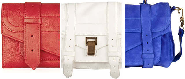 Red White and Blue Proenza Schouler