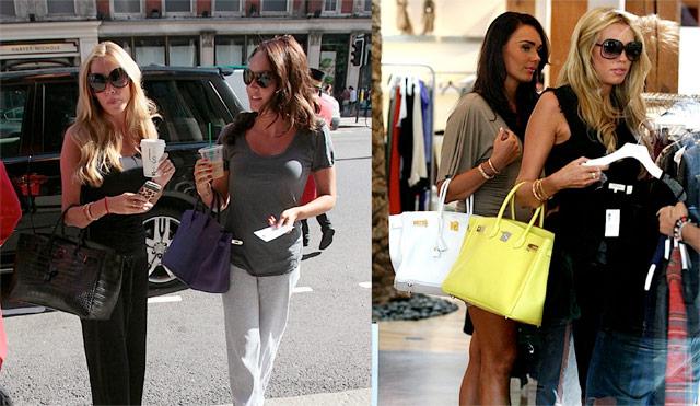 The Many Bags of Tamara and Petra Ecclestone (1)
