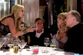 "RHOC: ""The village needed their idiot back."""