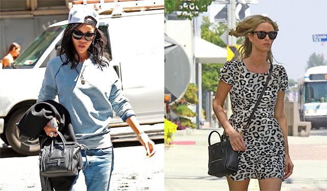 Rihanna and Nicky Hilton carry Celine (3)