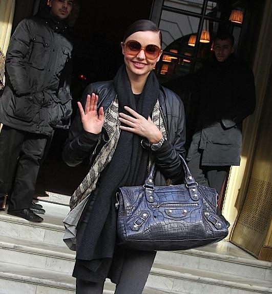 The Many Bags of Miranda Kerr (1)