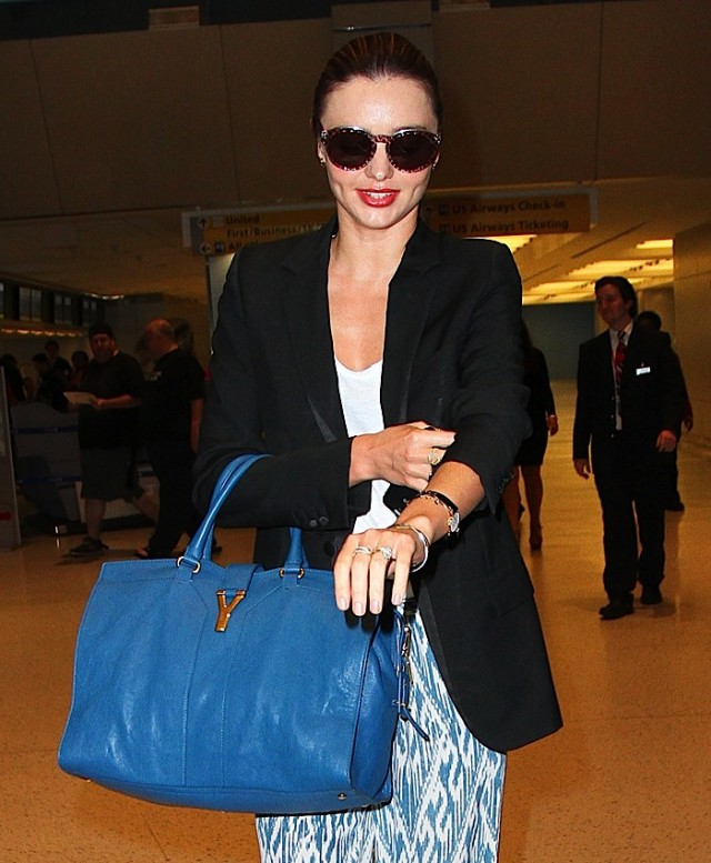 new ysl handbags - The Many Bags of Miranda Kerr - PurseBlog